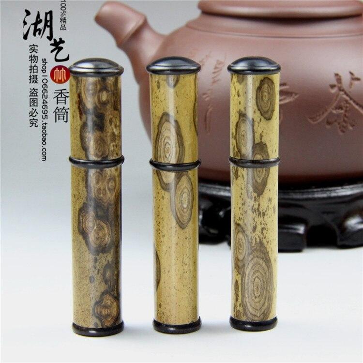 Spot bamboo merlot incense cylinder toothpicks extinguishers small tube Mosaic ebony mottled