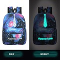 August 2016 New Korean Version Canvas Backpack, Men Women Travel Package Personality Luminous Backpack Fashion School Bag
