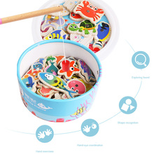 40pcs/lot Magnetic Fishing Toy With pool Rod Net Set For Kids Child Model Play Fishing Games Outdoor Toys (40 Fish+2 Rod) недорого