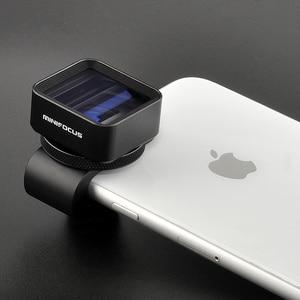 Image 1 - 1,33 X Anamorph Objektiv Verformung Fimmaking Handy Objektiv Widescreen Film Weitwinkel Kamera Objektiv für iPhone Samsung Handys