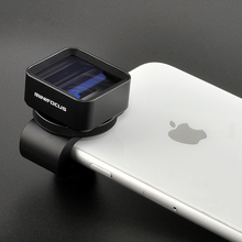 1.33X Anamorphic Lens Deformation Fimmaking Mobile Phone Lens Widescreen Movie Wide Angle Camera Lens for iPhone Samsung Phones
