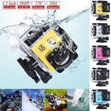 """SJ4000 1080 P Камера 30FPS экшн Камера Full HD Allwinner 4 K WI-FI 2,"""" Экран мини-камера на шлем для погружения на глубину до 30 м Водонепроницаемый спортивная видеокамера для подводной съемки и Камера"""