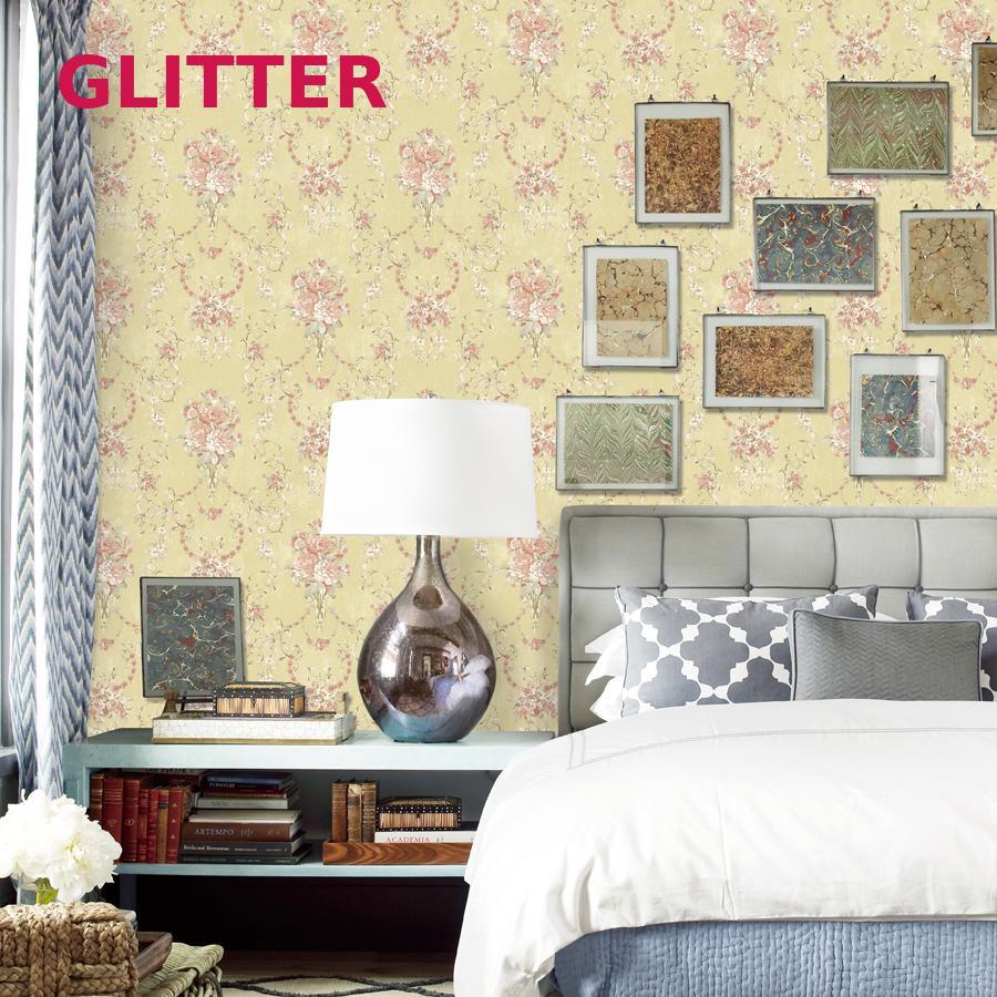 Vintage Floral Wallpaper For Living Room Vintage Embossed Wallpaper ...