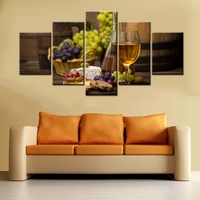 Fashion Bar Decor Wine Poster Print Canvas Painting Wall Art For Office Coffee Decoration Kitchen Modular