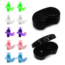 1 Pair Soft Silicone Ear Plugs Ear Protection Reusable Professional Music Earplugs Noise Reduction For Sleep