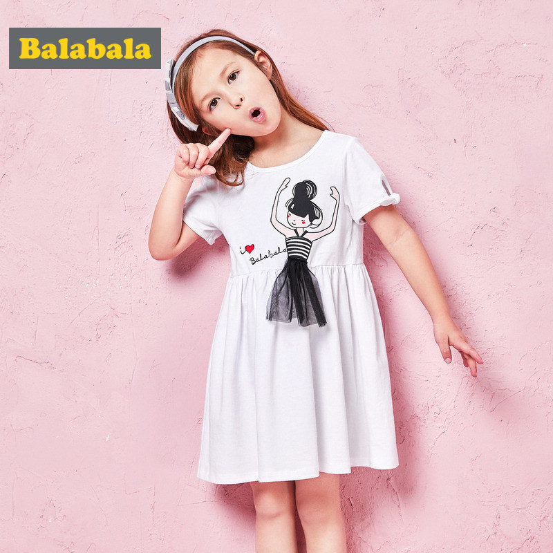 2-9 Years Old Toddler Kid Baby Girls Dress Summer Princess Dress Kids Baby Sleeveless Party Dresses For Girls All Cotton 2 Color 2016 new girls dress cotton summer style sleeveless children dress party dresses for 2 7 years kids toddler vestidos kf509