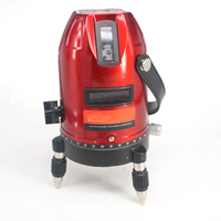 Professional 5 Line 6 Point Laser Level Cross Laser Line Leveling Measuring Equipment Laser Level Shockproof