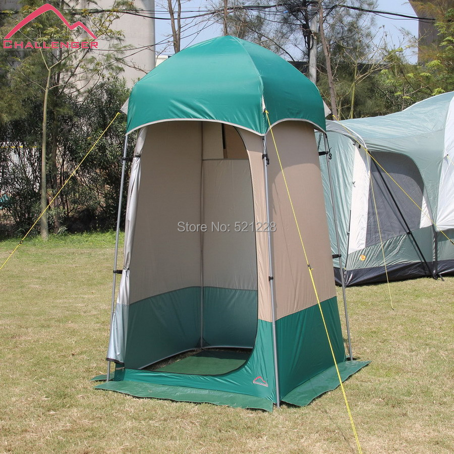 CHAllENGER Outdoor Camping Beach Fishing Dressing Dress Changing - Camping bathroom tent