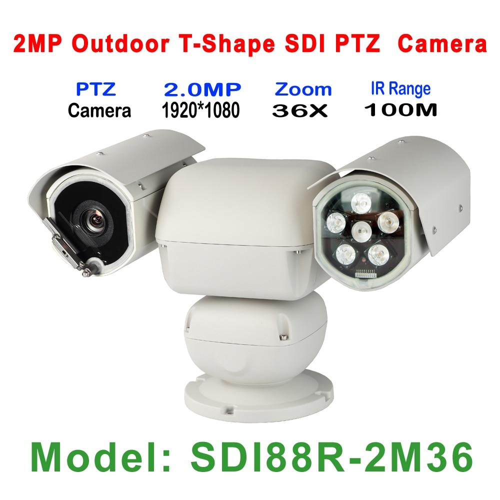 TOP 2MP 1080P Outdoor Heavy Load Duty 36X Auto Zoom IR 100M HD-SDI CCTV PTZ T Shape PTZ Camera, Anti-freezing, lightning-proof xtool ps2 hd auto heavy duty truck diagnostic tool