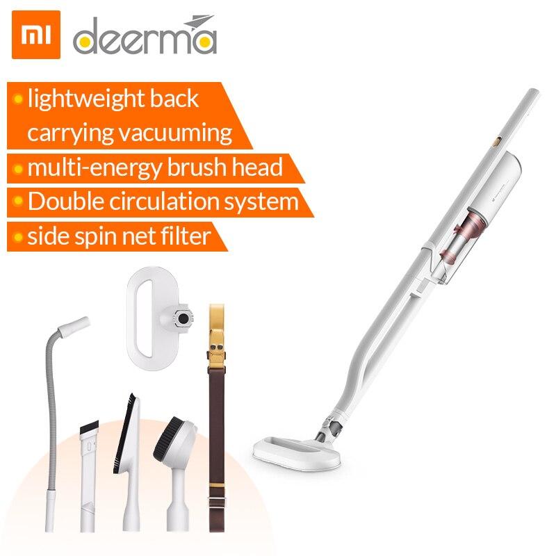 Xiaomi Deerma aspirateur à main multifonctionnel Dx800 style épaule Portable Aspirador 4 buse Kit Mihome pour Mijia