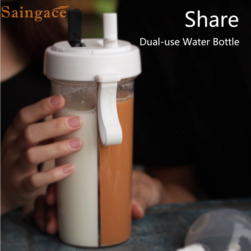 Saintgace Outdoor Water Bottle Travel Creative Dual use Water Bottle Sport Portable Leakproof Drinking cup dropshipping 2020 new|Water Bottles| |  - AliExpress