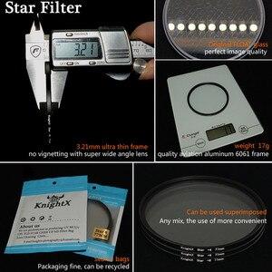 Image 3 - KnightX filtro de estrella de 52MM, 58MM, 67MM, 4, 6 y 8 puntos de línea para Canon, Nikon d3200, d5200, 1200d, 600d, 100d, t5i, d5500750d, t5, a57, lente DSLR