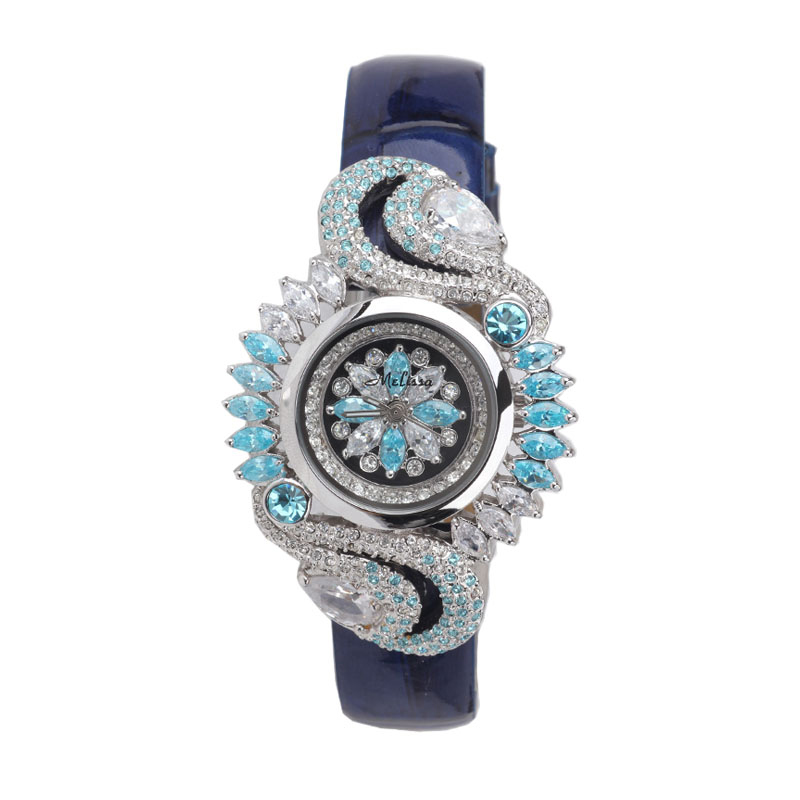 Melissa Fashion Exaggerated Designer Women Jewelry Watches L