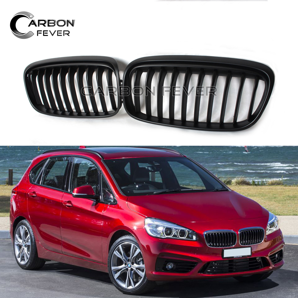 For BMW F45 F46 Front Bumper Kidney Grille 2 Series Active