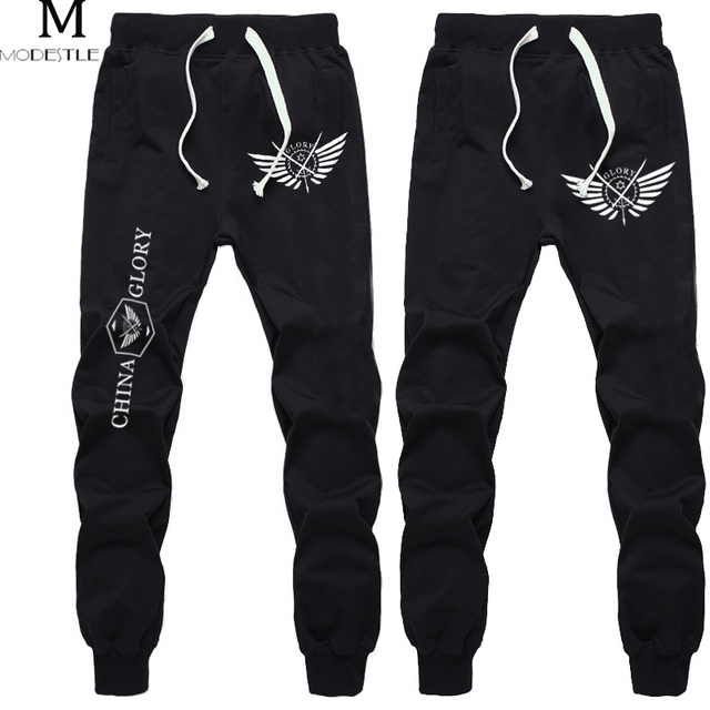 Black Trousers Loose Anime Full time Master Sweatpants Men Long exercise  Pants Men Cotton Elastic Brand Cool Pants Men Gift 1b2e621f0