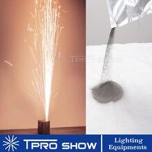 Sparkular แป้งเย็น Spark เครื่องไทเทเนียมผงสำหรับ 400W 600W Firework Silver Fountain ดอกไม้ไฟงานแต่งงาน 200 กรัม/ถุง