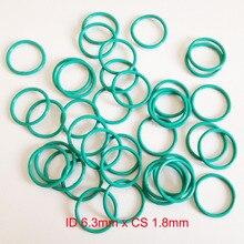 ID6.3mm*CS1.8mm viton rubber o-rings oring seal gasket set id5mm cs1 8mm viton rubber o rings oring seal gasket