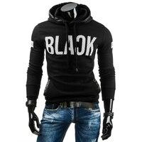 2017 Hoodies Men Sweatshirt Casual Hoodies Mens Brand Hoodie Fashion Print Hoodie Sweatshirt Slim Fit Men