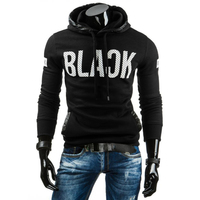 2017 Hoodies Men Sweatshirt Casual Hoodies Mens Brand Hoodie Fashion Print Hoodie Sweatshirt Slim Fit Men