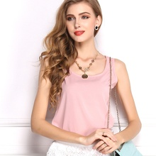 ZOGAA 2018 new womens street casual loose light breathable sleeveless chiffon vest T-shirt top S-3XL 11 color