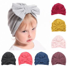 Sweet Baby Hat for Girls Candy Color Soft Beanie Kids Infant Toddler Cap Newborn Accessories