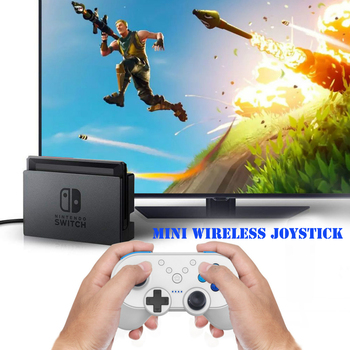 2018 Newest Multifuntion Mini Wireless Joystick Bluetooth Gamepad Controller For Nintend Switch Console With NFC Function