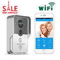 2015 Hot sale Wifi video door phone doorbell Wireless Intercom Support IOS Android for Smart Phone Free shipping