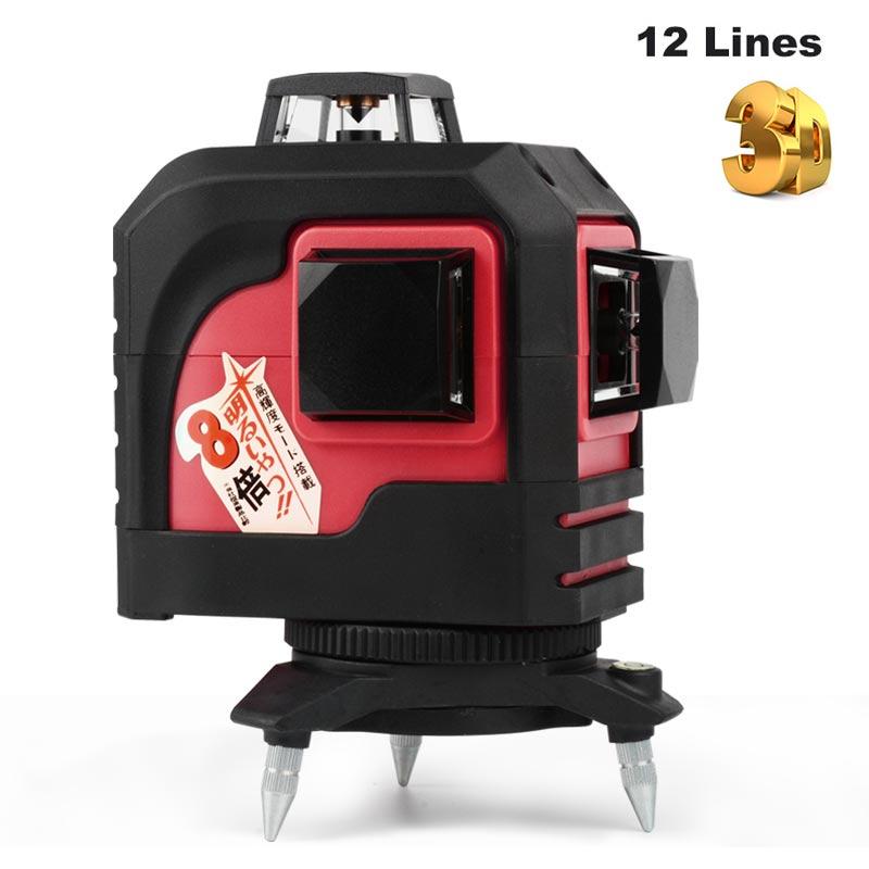 niveau nivel laser level 360 3d 12 lines laser level tripod niveau laser vertical horizontal niveau nivel laser level 360 3d 12 lines laser level tripod niveau laser vertical horizontal