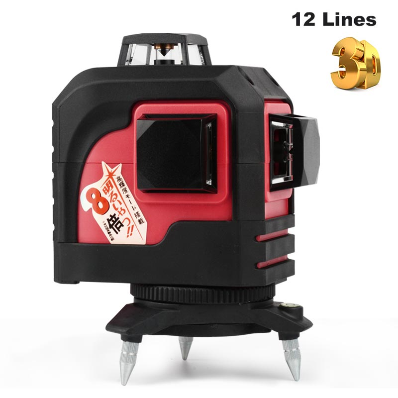 niveau nivel laser level 360 3d 12 lines laser level. Black Bedroom Furniture Sets. Home Design Ideas