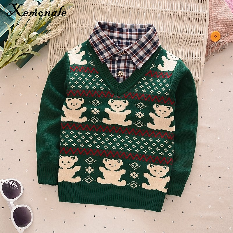 Xemonale-new-faul-Two-Pcs-fashion-baby-autumn-winter-sweater-clothes-baby-boysgirls-cardigan-sweater-coat-Childrens-sweater-4