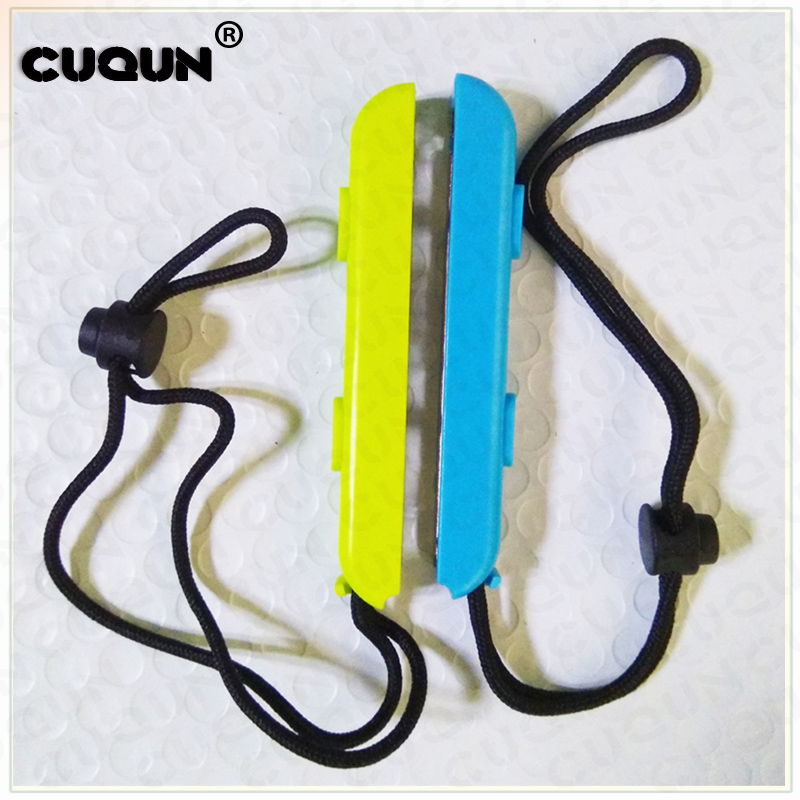 Купить с кэшбэком 50Pair Switch Joy-Con Wrist Strap Sling For Nintend Switch NS NX Joy-Con Wrist Hand Rope Band Twenty Mix Colors Available