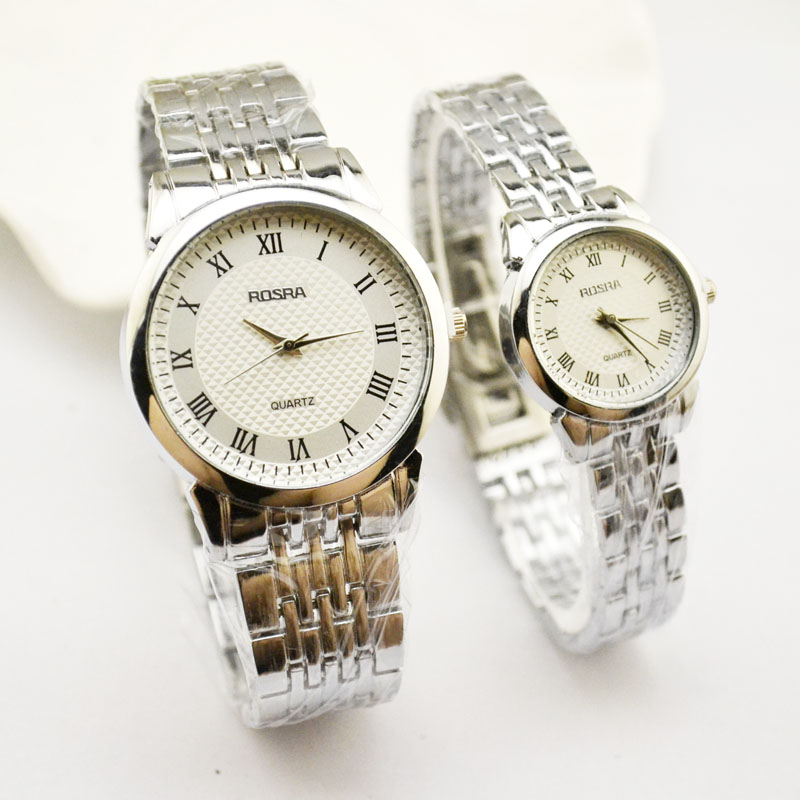 Korean Version Of High end Men 39 s Watch Quartz Watch Steel Belt Waterproof Watch Casual Lovers Watch Manufacturers Direct Jhlf in Lover 39 s Watches from Watches