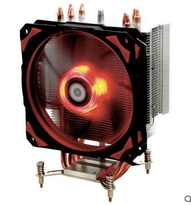 4pin PWM 120mm LED CPU cooler fan 4 heatpipe cooling for LGA 1151 115x CPU Radiator ID Cooling SE 214pro Free shipping