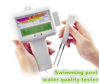 PH value spa chlorine water quality tester,PC101 swimming pool water tester, sauna chlorine water quality detectors,instruments