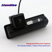 Liandlee Car Rear View Camera For Toyota Aurion / Camry XV40 2006-2011 Rearview Parking Backup Camera / Integrated SONY HD new high quality rear view backup camera parking assist camera for toyota 86790 42030 8679042030