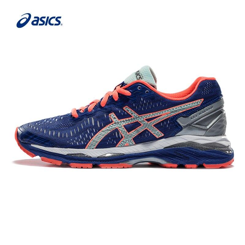 Original ASICS GEL-KAYANO 23 Night Running Women's Cushion Stability Running Shoes ASICS Sports Shoes Sneakers Outdoor Athletic asics men s gel lyte33 2 running shoe