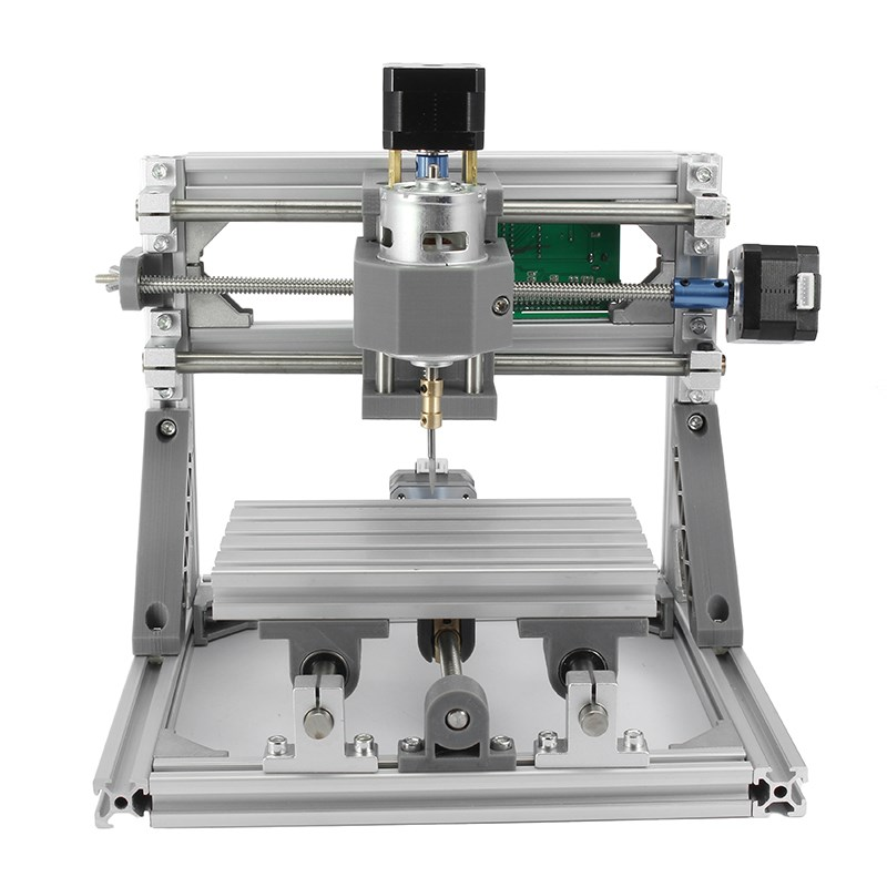 DIY CNC 2418 GRBL control CNC Machine Working area 24x18x4.5cm 3 Axis Pcb Pvc Milling Machine Wood Router Carving Engraver high purity 99 96