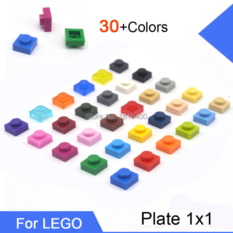 Lego Plate 1x1 3024 *Choose Your Color*