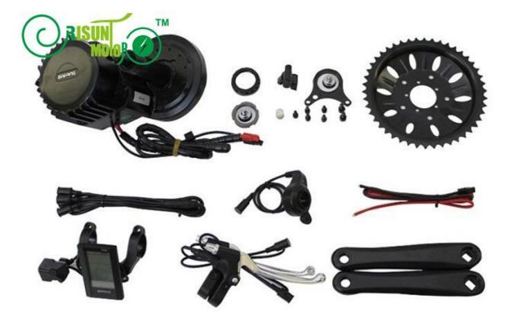 ЕС DUTY FREE Электрический велосипед 48 В в 1000 Вт 8fun Bafang BBS03 BBSHD Mid Drive двигатель комплект мм 68 мм 100 мм 120 включая C965 ЖК дисплей