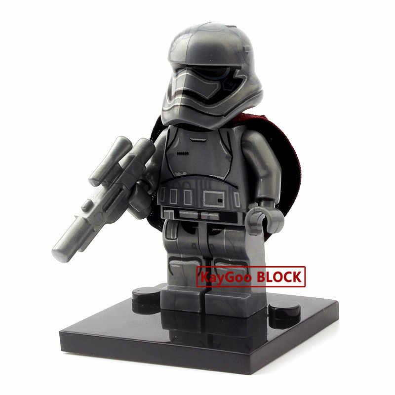 Звездная серия космические войны последние джедаи белый Штурмовик клон фигурка императорской армии военные строительные блоки кирпичи модель детские игрушки