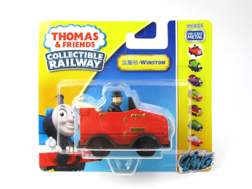 1:64 Diecasts Vehicles Thomas T140N WINSTON Thomas And Friends Magnetic Tomas Truck Engine Railway Train Toys for Boys NIB