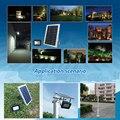 Солнечная панель  солнечная панель  питание генератора  светодиодный уличный свет  набор 12  светодиодный Белый свет для уличного двора  доро...