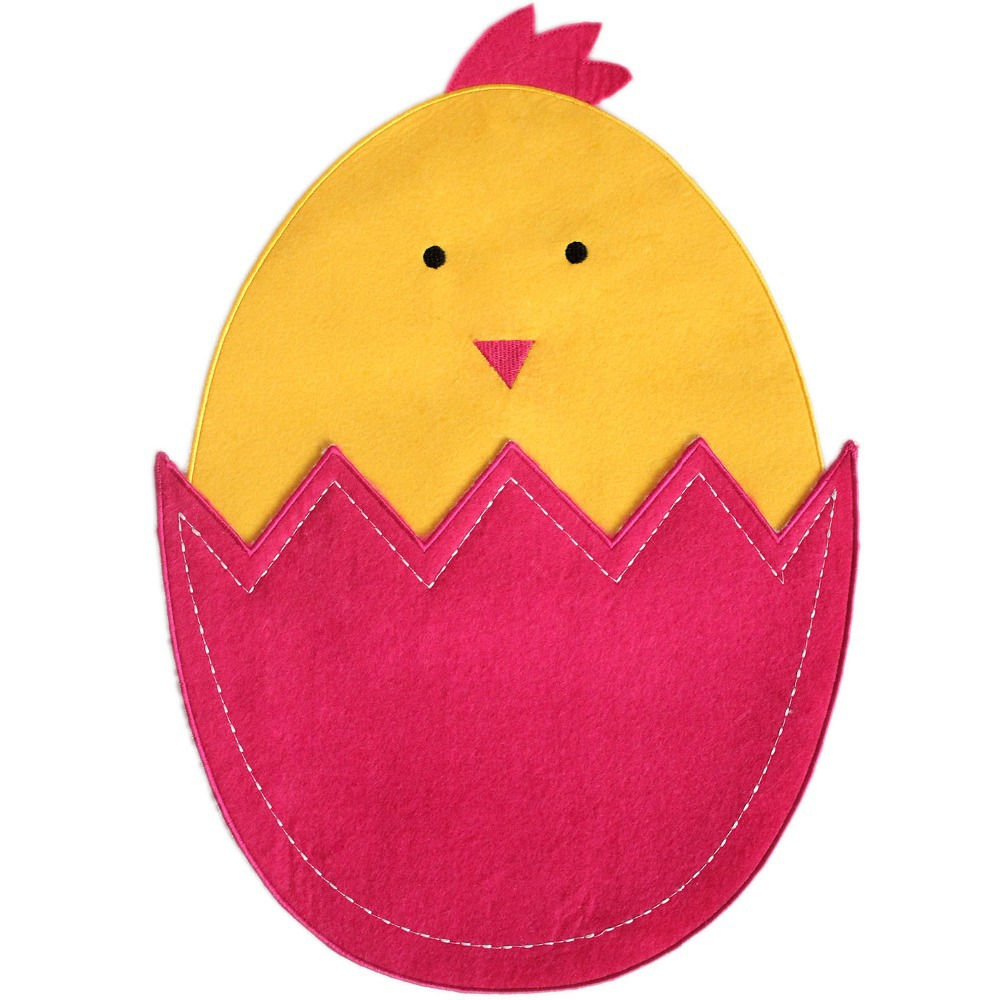 Free Shipping Easter Egg Design Cute Chicken Placemat Decoration Table In Mats Pads From Home Garden On Aliexpress