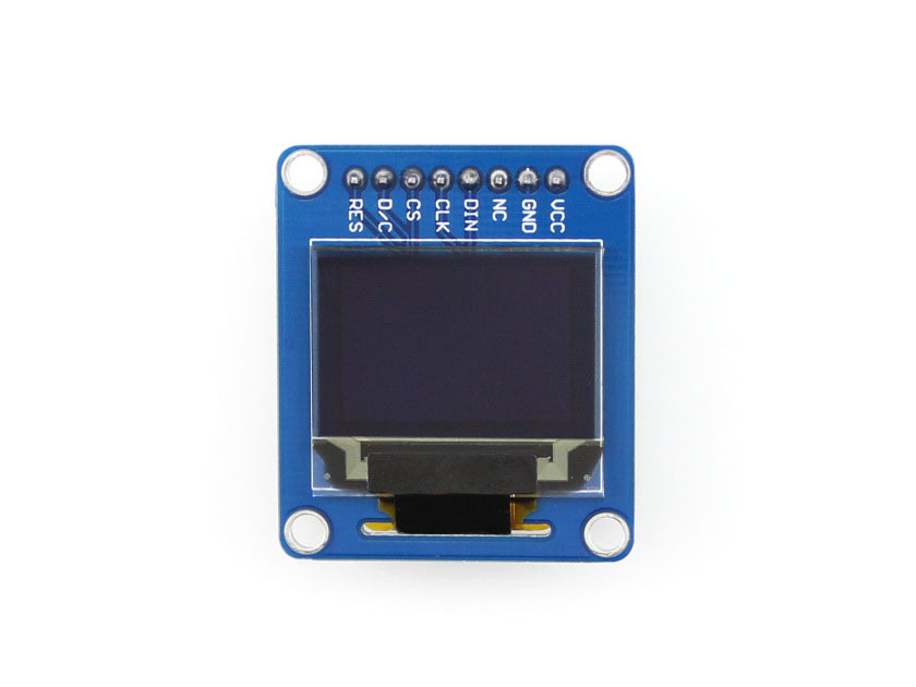 Waveshare 0.95inch RGB OLED (B) SPI Interface Straight/vertical Pinheader SSD1331 Driver Chip SPI Interface Mini Display