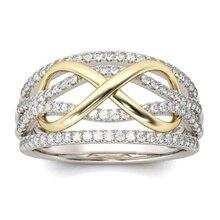 Fashion Jewelry Women Engagement Wedding Ring