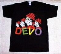 Custom T Shirts Online Men S Fashion O Neck Short Sleeve Devo Band Rock Band S