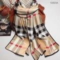 105034 3 цвета 170x52 см Оптовая 2014 Последним Muberry Шелковые Шарфы, креп-сатин равнина прямоугольник шарф, бесплатная Доставка