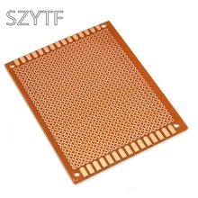 10pcs/bag Bakelite universal plate 7 * 9CM 2.54MM Pegboard  circuit board 1.2MM thick