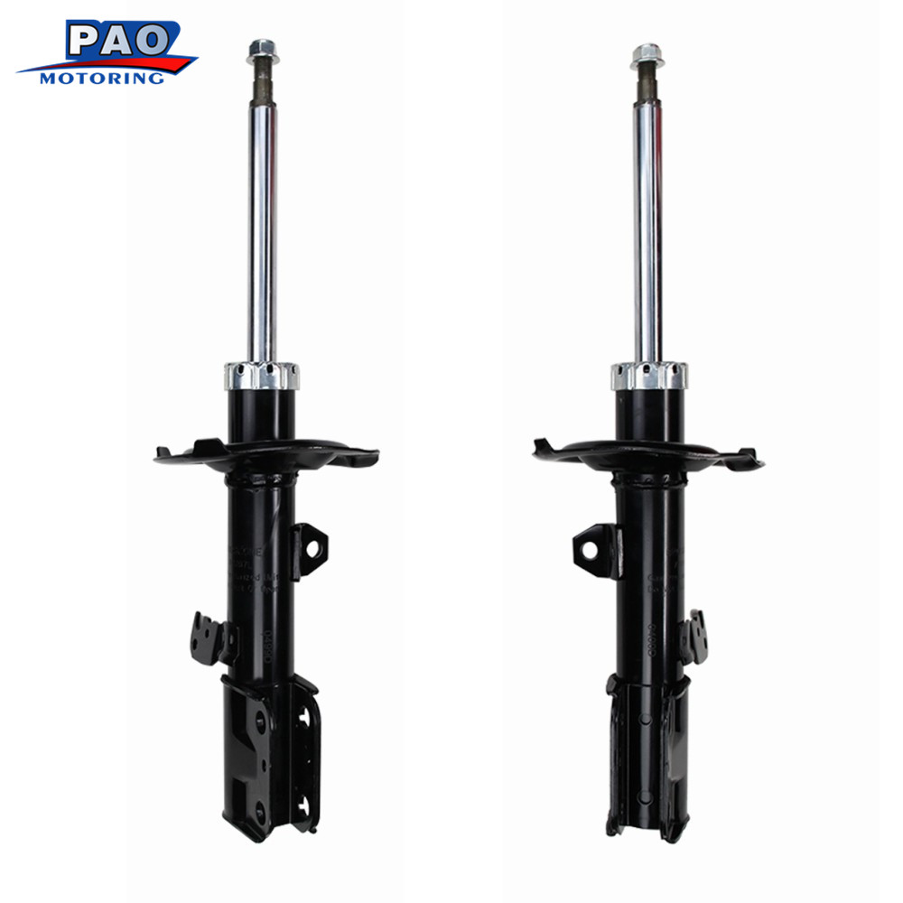 2PC New Front Strut Shock Absorber Left and Right Pair Set Fit for <font><b>2005</b></font> <font><b>2006</b></font> <font><b>2007</b></font> <font><b>2008</b></font> <font><b>2009</b></font> <font><b>2010</b></font> <font><b>Scion</b></font> <font><b>tC</b></font> OEM 72390 72391 auto