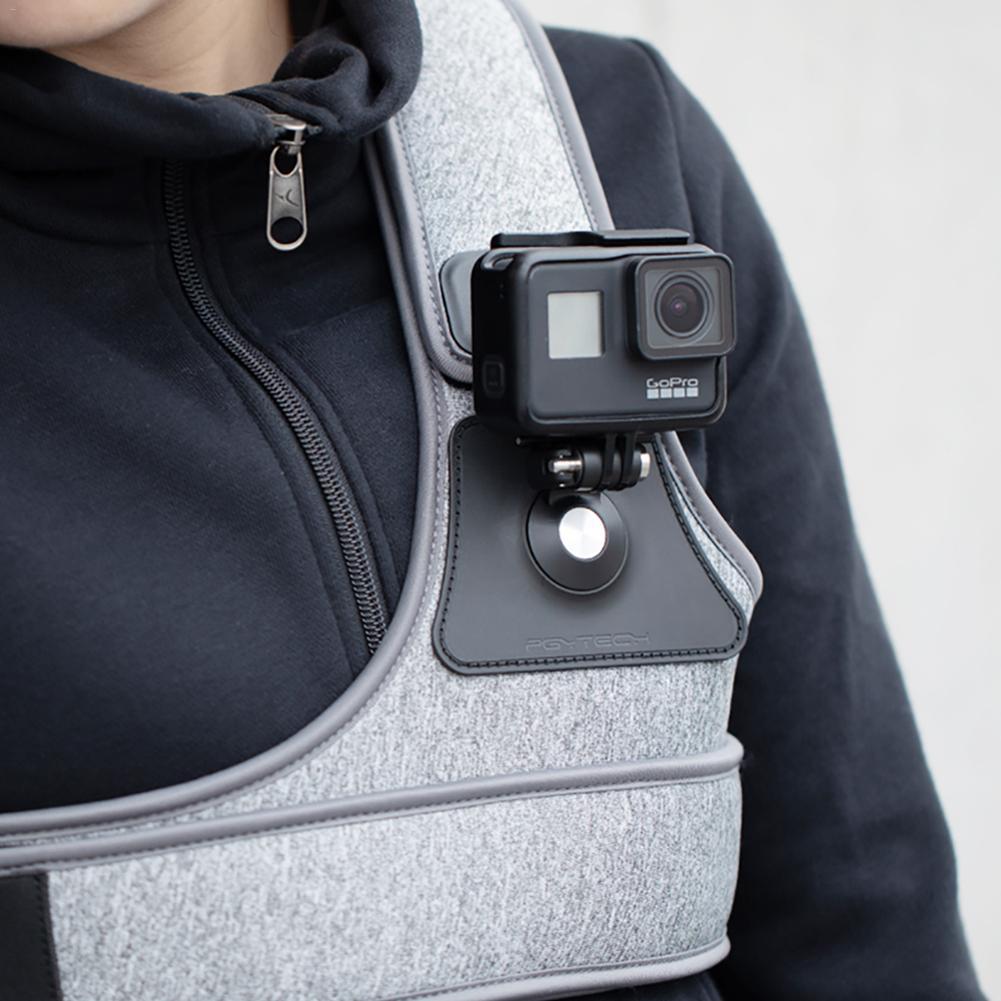 DJI Osmo Action Osmo poche Gopro caméra sport sangle poitrine bande fixe connexion adaptateur montage Drone cardan accessoires